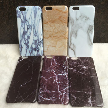 Marble iPhone 7 5s 6 6s Plus Case Cover + Gift Box