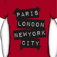 PARIS LONDON NEW YORK CITY Women's T-Shirt