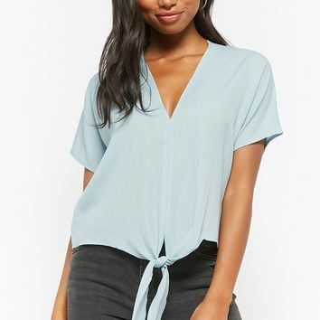 Tie-Front Boxy Top