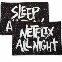 Sleep All Day Pillow Cases [B]