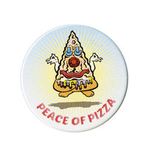 Peace of Pizza Pin