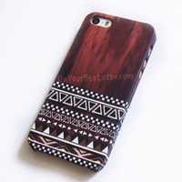 Aztec Wood Tribal Geometric iPhone Case Cover , iPhone 5s Case , iPhone 5 , iPhone 5c Case ,iPhone 4 ,iPhone 4s Case ,Samsung Galaxy S4 Case