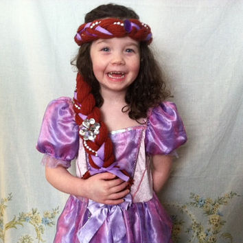 Sofia the First Dress up Hair, Sofia the First Costume, Sofia the First Birthday, Ready to Ship, Mouse Ears, Mickey Ears