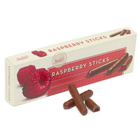 Milk Chocolate Covered Raspberry Jelly Candy Sticks: 10.5-Ounce Gift B