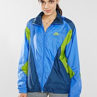 Vintage Nike Lime Stripe Running Jacket - Urban Outfitters
