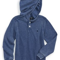 Boy's Volcom 'Murphy' Hooded Thermal Shirt,