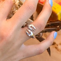 Crab Claw (Silver) / Ring