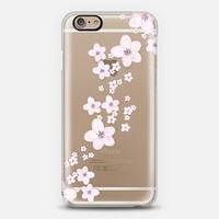 CHERRY RAIN iPhone 6 Crystal Clear Case iPhone 6 case by Monika Strigel | Casetify