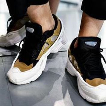 Fashion Online Raf Simons X Adidas Consortium Ozweegoiii Black White Women Men Casual Trending Running Sports Shoes Sneakers