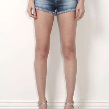 Klique B High Waisted Shorts - Denim