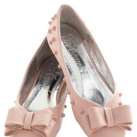 Witty in Pink Flat | Mod Retro Vintage Flats | ModCloth.com