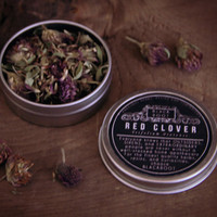 Red clover, organic dried clover flowers and petals (organic herb)