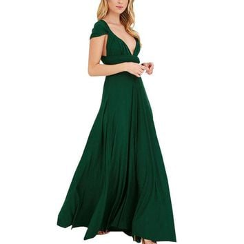 ONETOW Convertible Wrap Maxi Dress