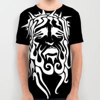 Jesus All Over Print Shirt by Unique Artist Gifts