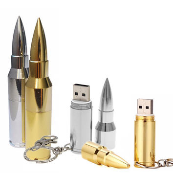 Bullet Shape USB | From 4 to 64 GB