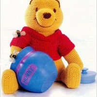 Winnie The Pooh Crochet Pattern (Digital Delivery Only)