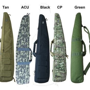 Hunting 120cm Gun Rifle Bag Outdoor Tactical Carrying Bags Military Gun Case Shoulder Pouch For Airsoft Shooting Painting Games