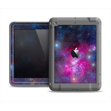 The Pink & Blue Galaxy Apple iPad Air LifeProof Fre Case Skin Set