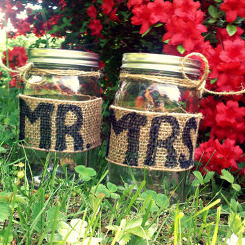 Rustic Country Wedding Candle Holder