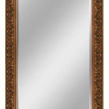 Ornate Gold Leaner Mirror (8931) - Illuminada