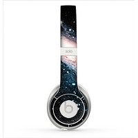 The Swirling Glowing Starry Galaxy Skin for the Beats by Dre Solo 2 Headphones