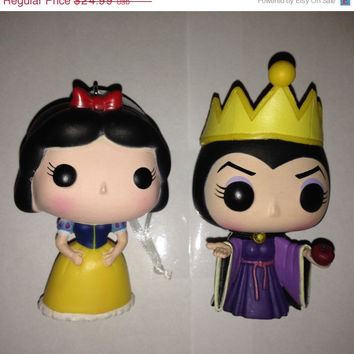 Funko Vinyl Pop! Snow White & Evil Queen Christmas Tree Ornaments Set