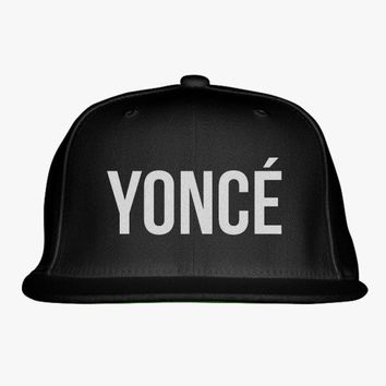 Beyonce Embroidered Snapback Hat