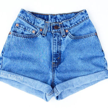 1c0a80060b Vintage Levis Shorts High Waisted Denim Shorts Jeans Back to School / xs s  m l xl xxl