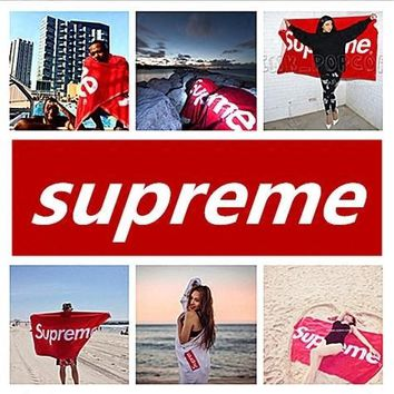 Supreme towel/Supreme blanket 100% Cotton High Quality Throw Blanket