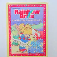 Vintage Rainbow Brite Hardback Children's Book 1984