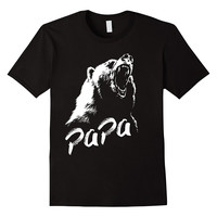 Mens Papa Bear T Shirt - Funny Crazy Gift Ideas For Dad