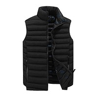 Winter Stand Collar Men's Vests