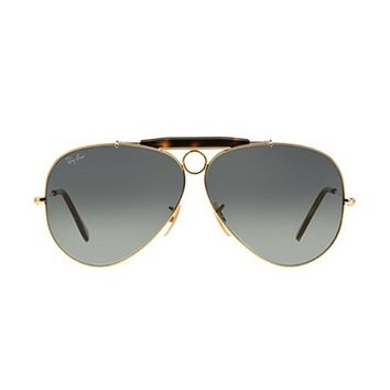 NEW Genuine Ray Ban RB3138 18171 62 Gold Mens Womens Sunglasses Glasses