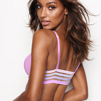 Front-Close Push-Up Rainbow Striped Full Coverage Bra - The T-Shirt - Victoria's Secret
