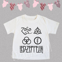 Led Zeppelin TShirts Heavy Metal Rock TShirts Baby TShirts Kids Shirts Kids TShirts Kids Tee Shirts Children Clothing - Size S M L