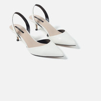 MID HEEL SHOES WITH ANKLE STRAP - View All-SHOES-WOMAN-SALE | ZARA United States