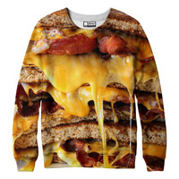 Grilled Bacon and Cheese Sweatshirt