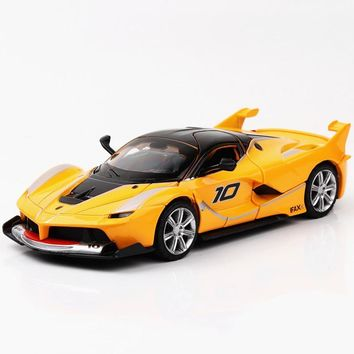 New 1:32 Ferrarie Alloy Model Diecasts Super Racing Pull Back Car Vehicles Toys For Children Gifts Boy Dropshipping HotWheel
