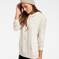 Full Tilt Essential Womens Cozy Hoodie Oatmeal  In Sizes