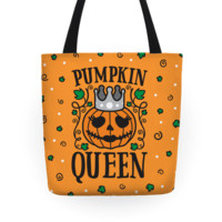 PUMPKIN QUEEN TOTE BAG
