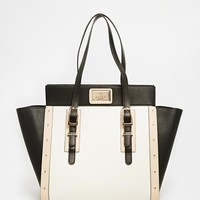 Lipsy Black Large Winged Tote