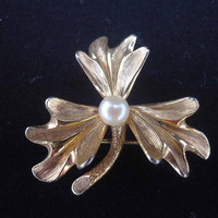 Vintage Christian Dior by Henkel and Grosse, Designer Brooch, 1960s Vintage