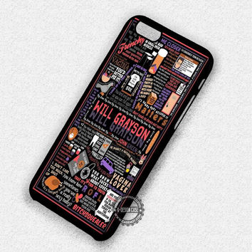 Novel's Quote Design - iPhone 7 Plus 6 5 4 Cases & Covers