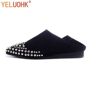 Women Genuine Leather Flat Shoes Moccasins Women Loafers High Quality Spring Autumn Sh