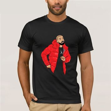 Drake T-Shirt Drake Cartoon Print T Shirt Fashion T Shirts Summer Men's Casual Awesome Beach Music Tee Shirt Plus Size 5XL 6XL