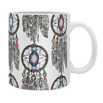 Sharon Turner Gemstone Dreamcatcher Coffee Mug