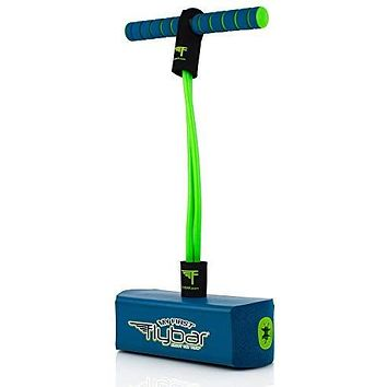 Flybar My First Foam Pogo Jumper for Kids Fun and Safe Pogo Stick, Durable Foam and Bungee Jumper for Ages 3 and up Toddler Toys, Supports up to 250lbs (Blue): Toys & Games