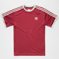 Adidas Adv Mens Club Jersey Burgundy  In Sizes