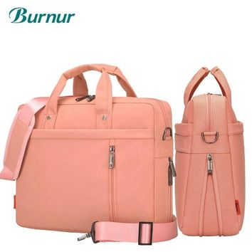 Laptop bag 17.3 17 15 14 13 inch Shockproof airbag waterproof computer bag men and women luxury thick Notebook bag new