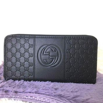 PEAPND Gucci Women Leather Fashion Wallet Purse